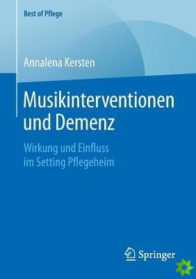 Musikinterventionen Und Demenz