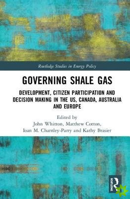 Governing Shale Gas
