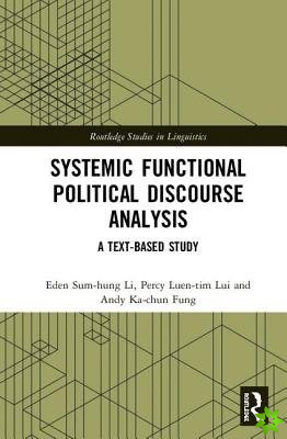 Systemic Functional Political Discourse Analysis