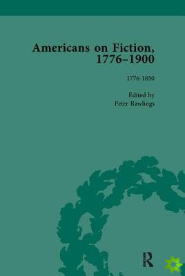 AMERICANS ON FICTION 1776 1900 V1