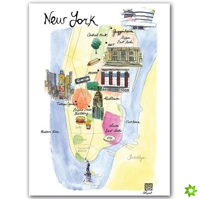 New York Notecard Box