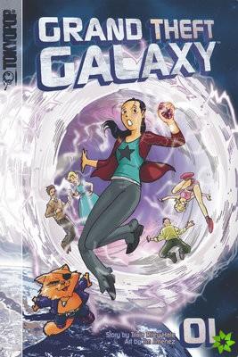 Grand Theft Galaxy manga volume 1