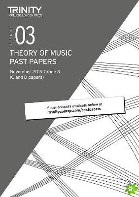 Theory Past Papers November 2019 - Grade 3