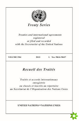 Treaty Series 2904 (English/French Edition)