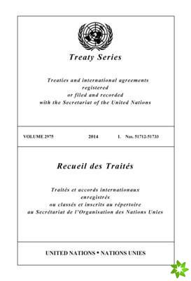 Treaty Series 2975 (English/French Edition)