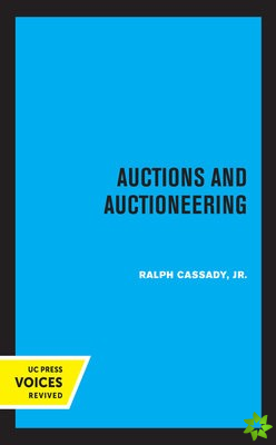 Auctions and Auctioneering