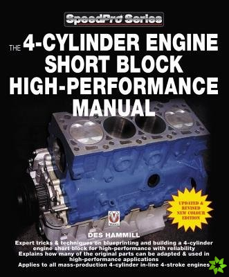 4-Cylinder Engine Short Block High-Performance Manual