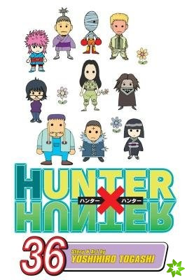 Hunter x Hunter, Vol. 36