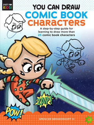 You Can Draw Comic Book Characters
