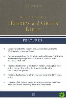 Reader's Hebrew and Greek Bible